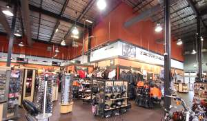 The Harley-Davidson Store before the renovations.