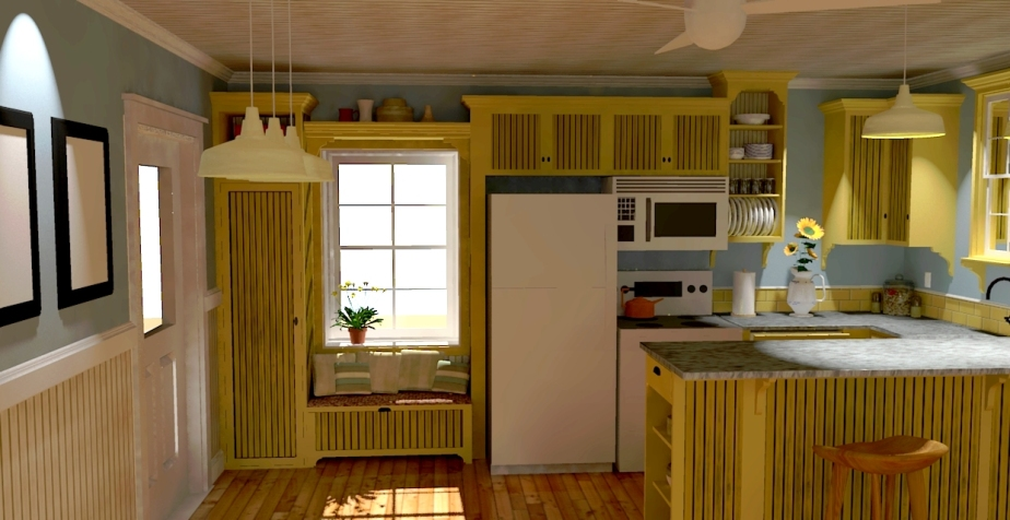 Kitchen Design Pass 03 Concept 011_The nook