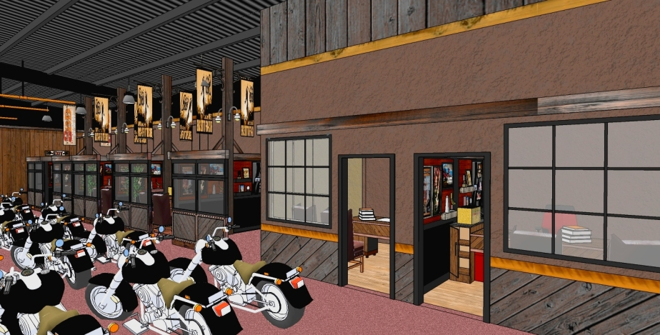 Design Concept for the Sales Offices