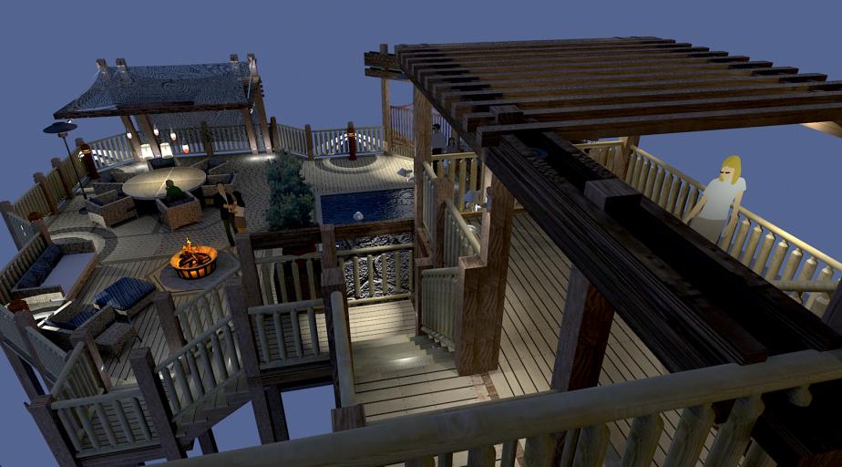 Pool Deck Concept 004