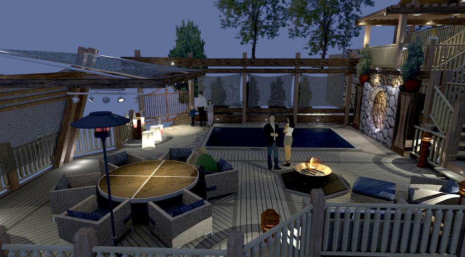 Pool Deck Concept 005