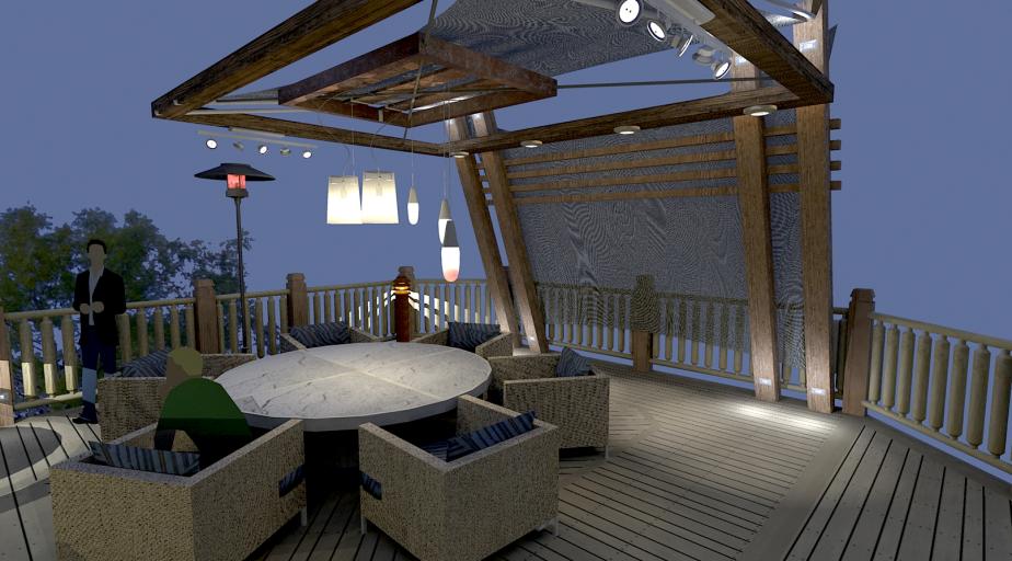 Pool Deck Concept 006