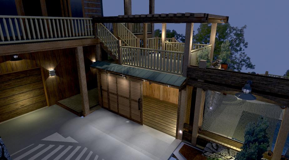 Pool Deck Concept 007